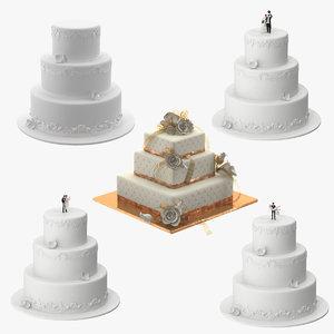 3d wedding cakes 02