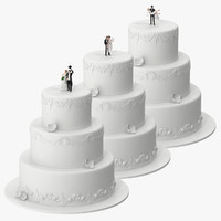 wedding cakes miniatures max