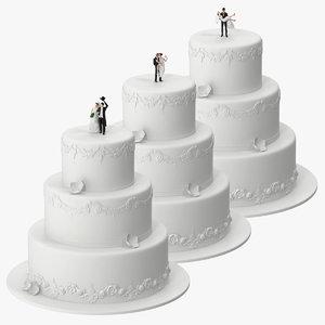 wedding cakes miniatures max