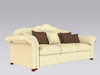 c4d modern sofa