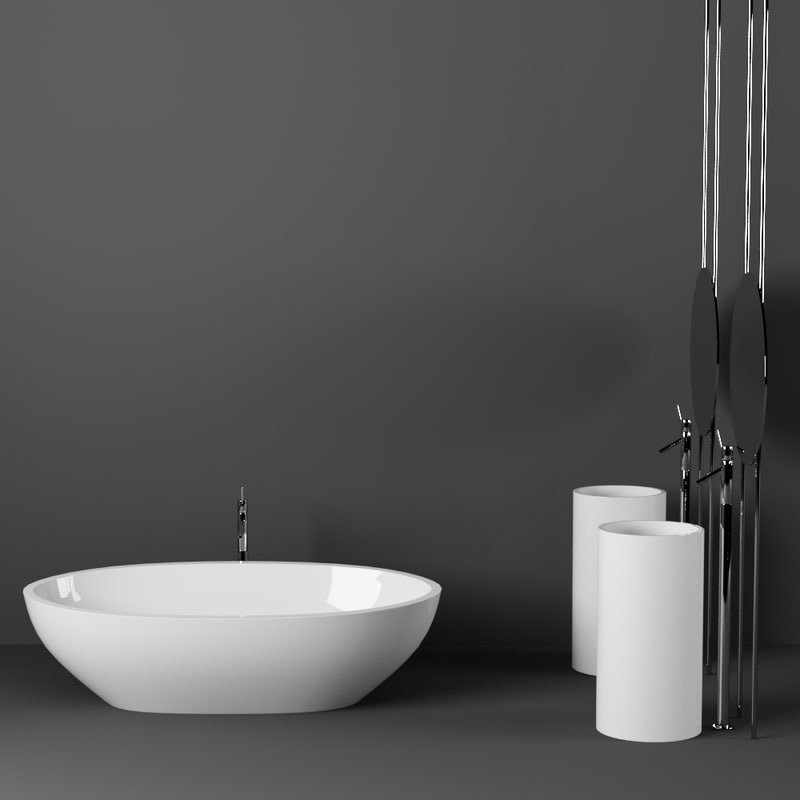 3d bath bathroom set