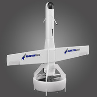 vertical take-off uav martin 3d model
