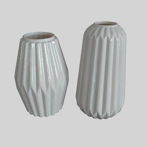 bloomingville vases 3d max