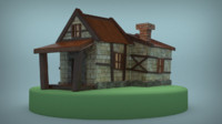 fantasy house 3d max