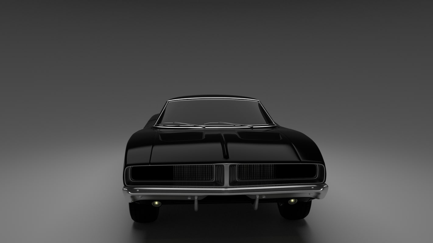 3d ma dodge charger 69