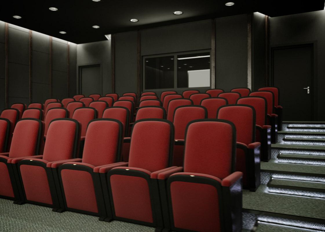 3d movie theatre