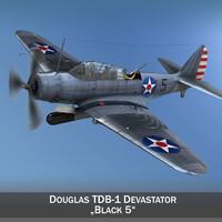 Douglas TDB-1 Devastator