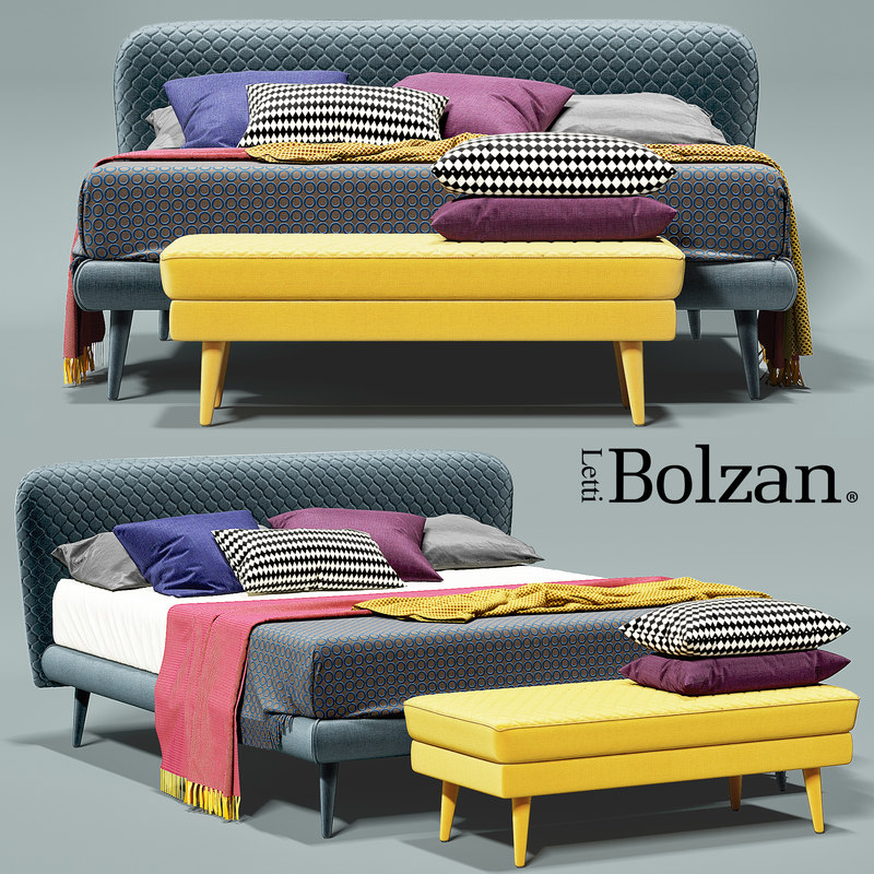 bed corolle bolzan 3d max