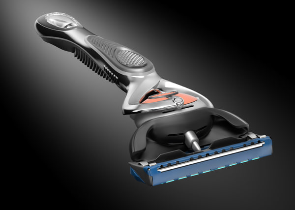 gillette proglide 3d model