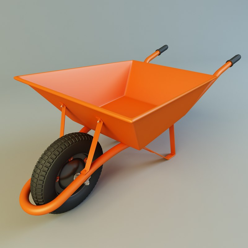 3d wheelbarrow barrow