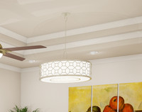 hanging pendant light 3ds