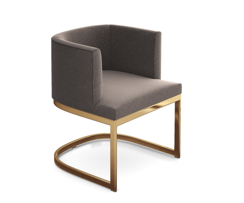 barrel dining chair 3ds