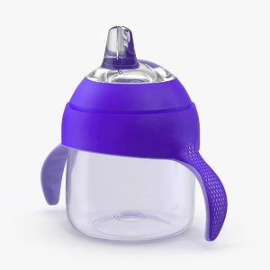 max sippy cup purple