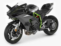 3d model kawasaki h2r ninja
