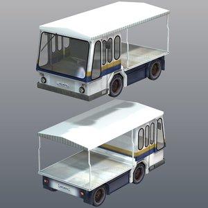 3d truck milk crate