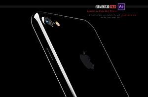iphone 7 - 3d max