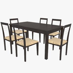 hai kay table 3d 3ds