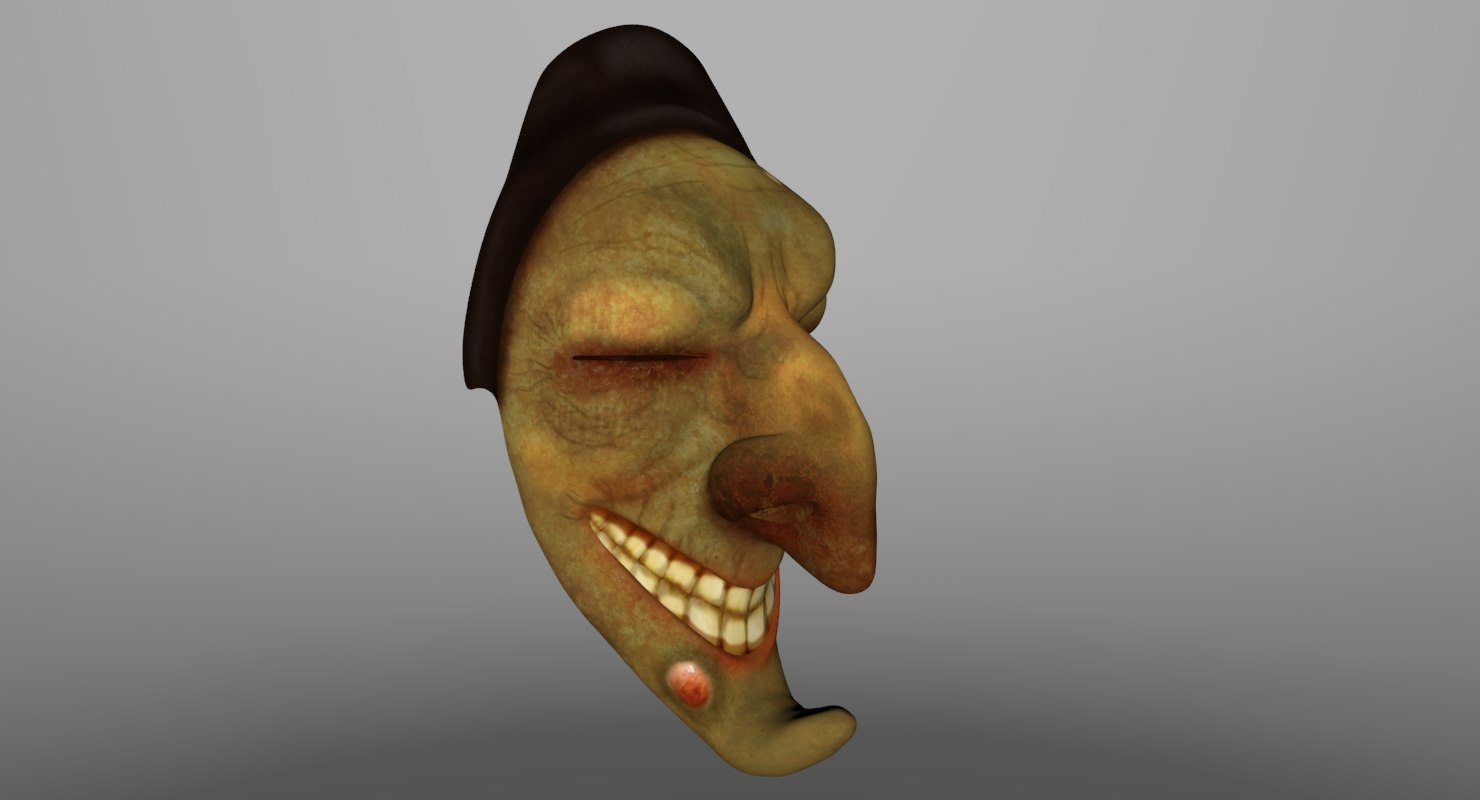 faces mask 3d model
