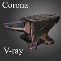 ready corona polys 3d obj