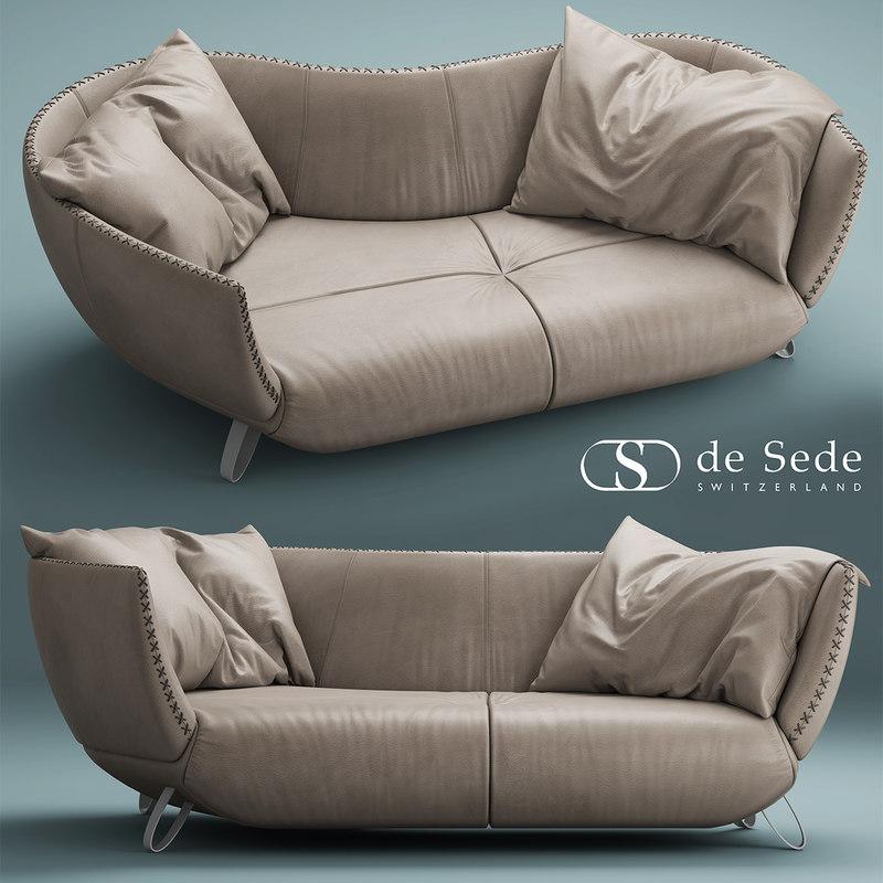 desede ds-102 sofa 3d max
