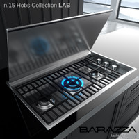3d hobs lab barazza model