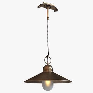 3d model chandelier lamp lighting