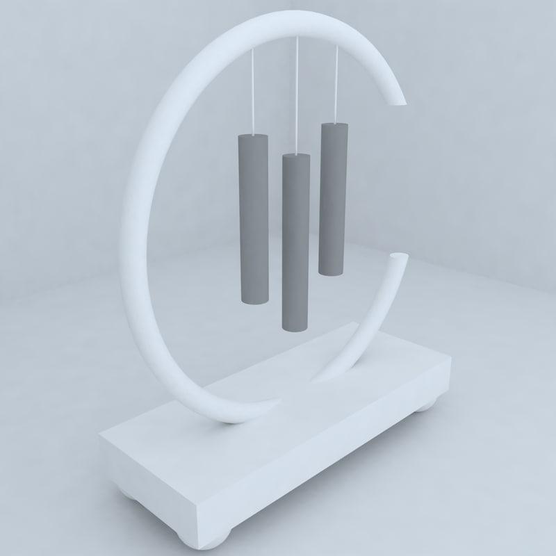 3d model sculpture shopping center