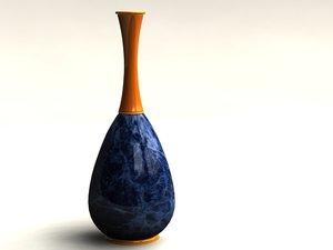 3d max vase lapis lazuli