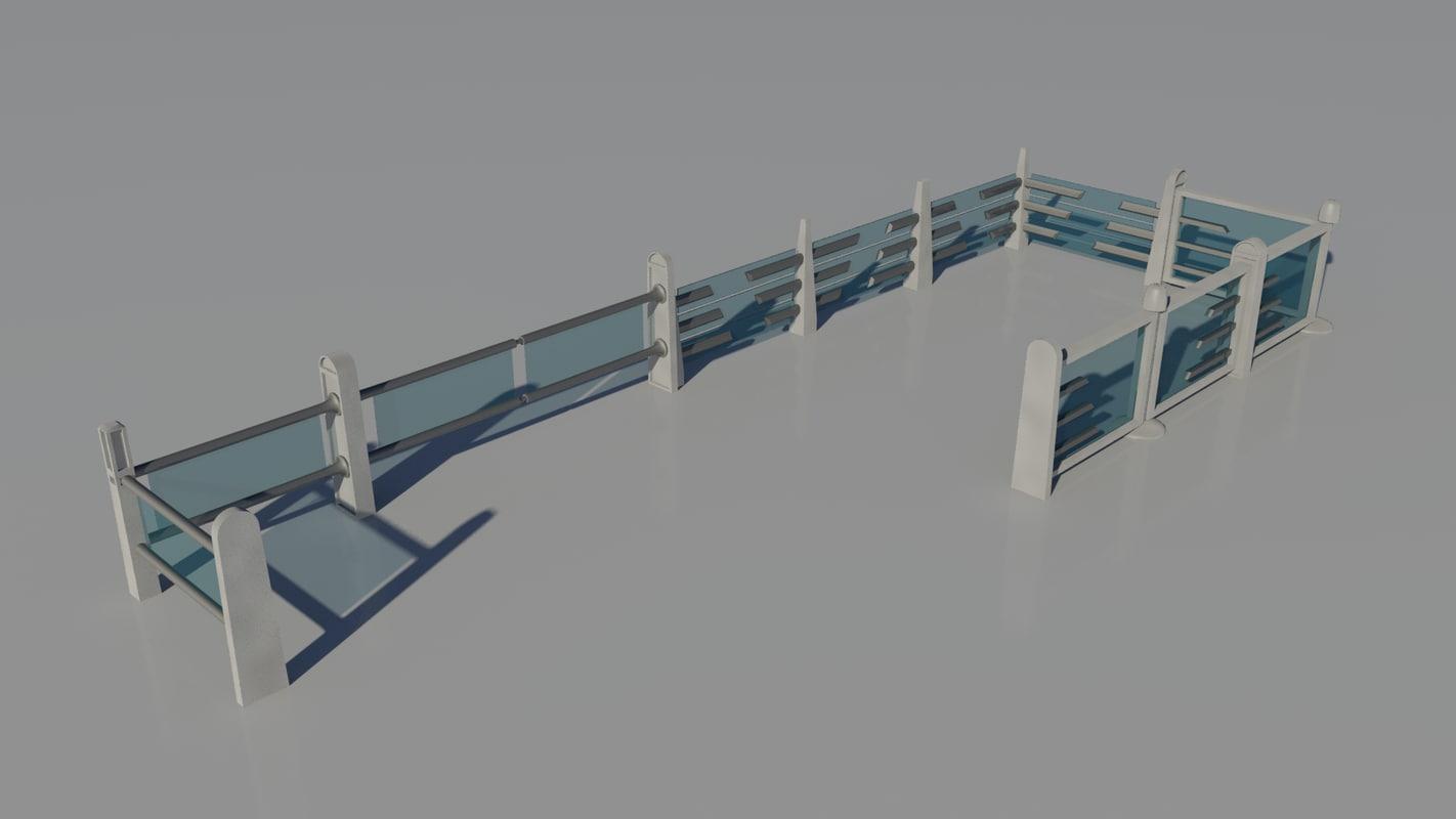 free max mode glass fences