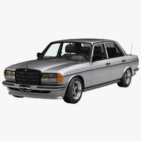 mercedes-benz 280e w123 amg 3d model