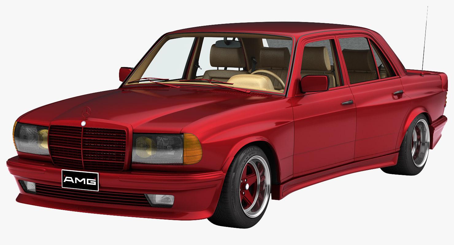1984 Mercedes-Benz W123 560E AMG Widebody