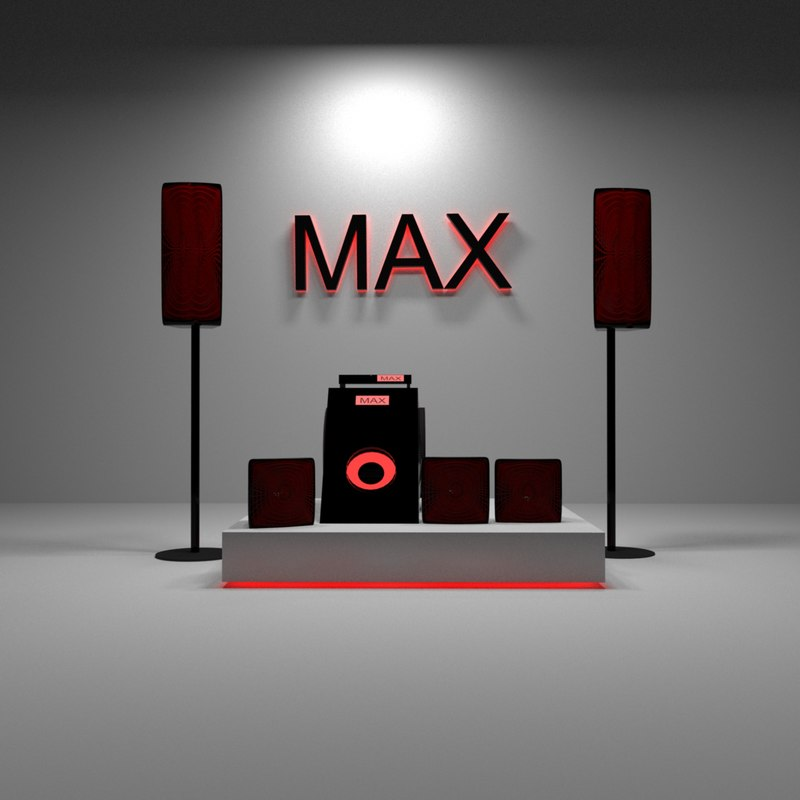 free max model loudspeakers