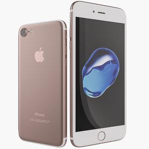 3d new apple iphone 7