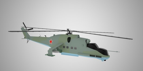 3d russian mil24 fb model
