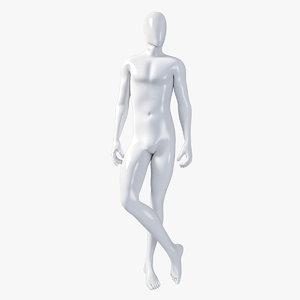 male mannequin 3d model