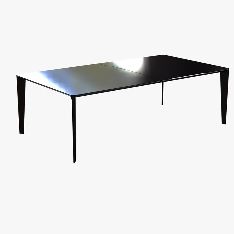 table shadow dining 3d model