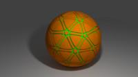 ball green 3d model