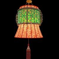 paper lantern lighting lamp 3d model