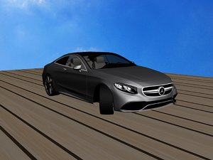 3d s coupe amg model