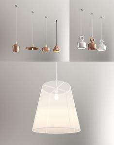 3d model light home office