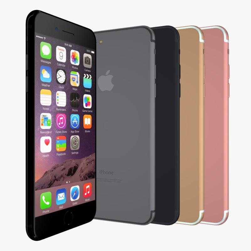 3d iphone 7 model