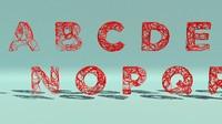 Alphabet splines