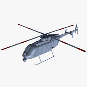 3d scout mq-8c helicopter