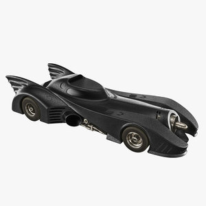 bat mobile 3d obj