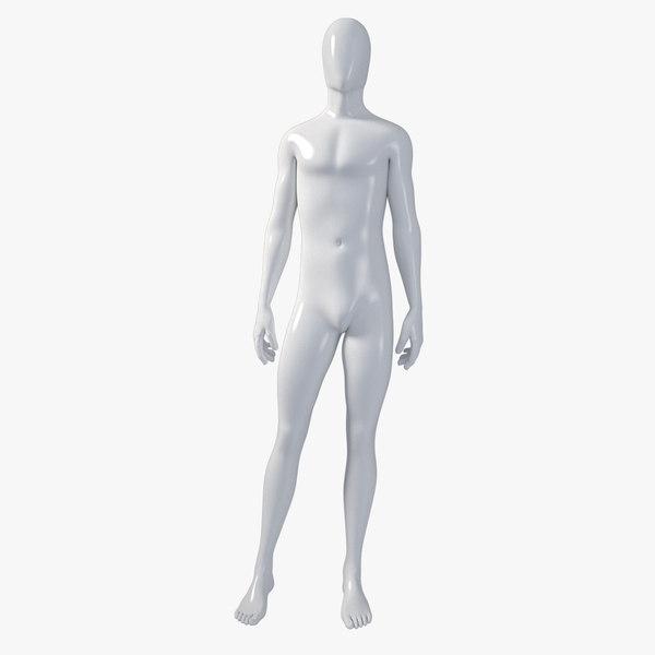 3d male mannequin