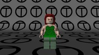 3d lego poison ivy 2006 model