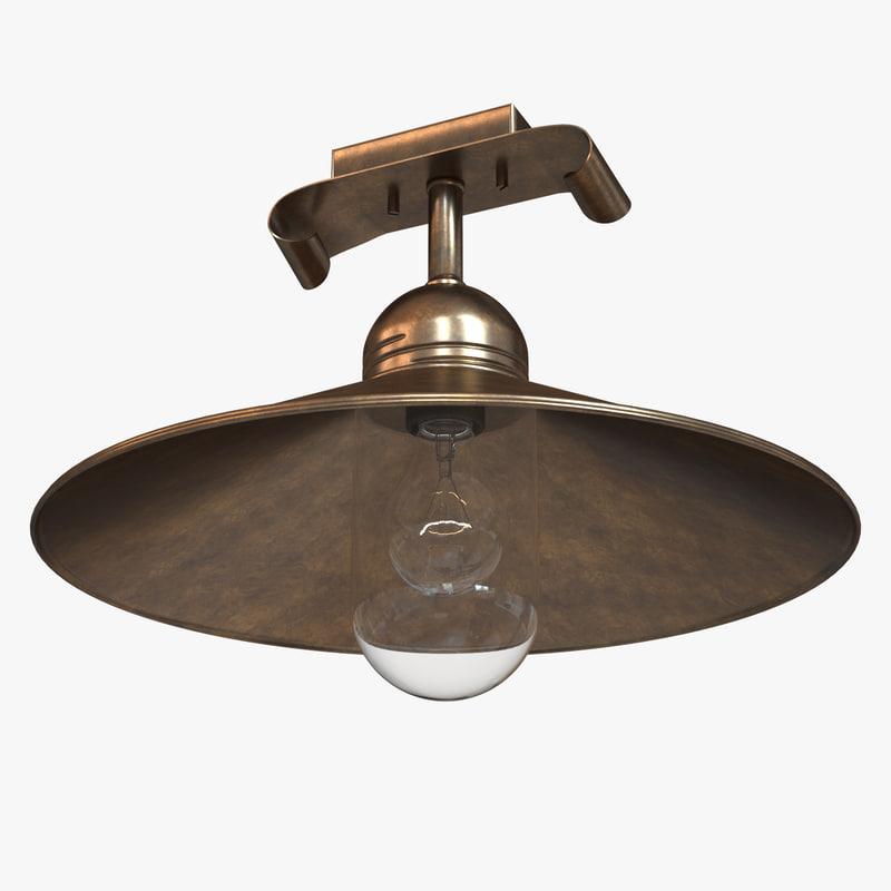 3d chandelier lamp lighting model