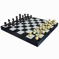 chess - old german 3d max