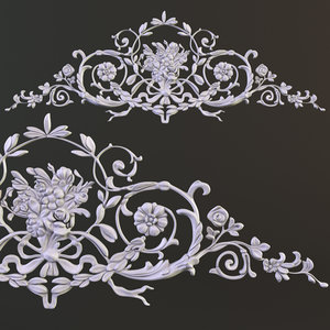 decorative element 3d model