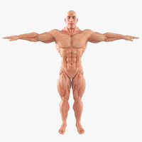 super hero body muscles max